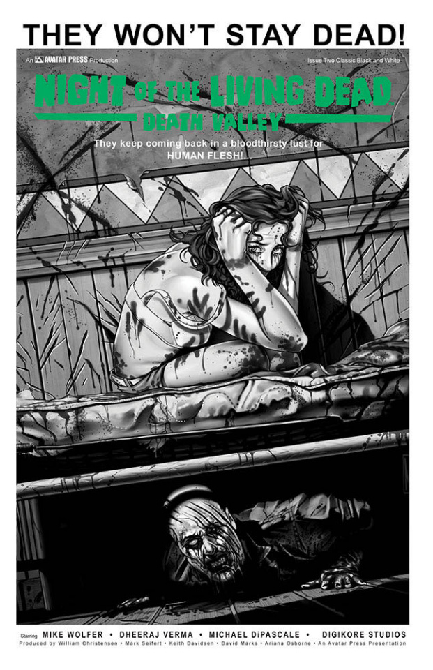 Night of the Living Dead: Death Valley #2 (Classic Cover)