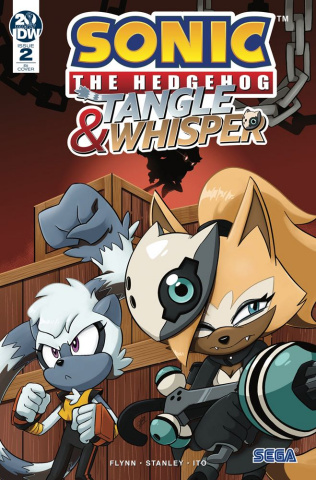 Sonic the Hedgehog: Tangle & Whisper #2 (10 Copy Cover)