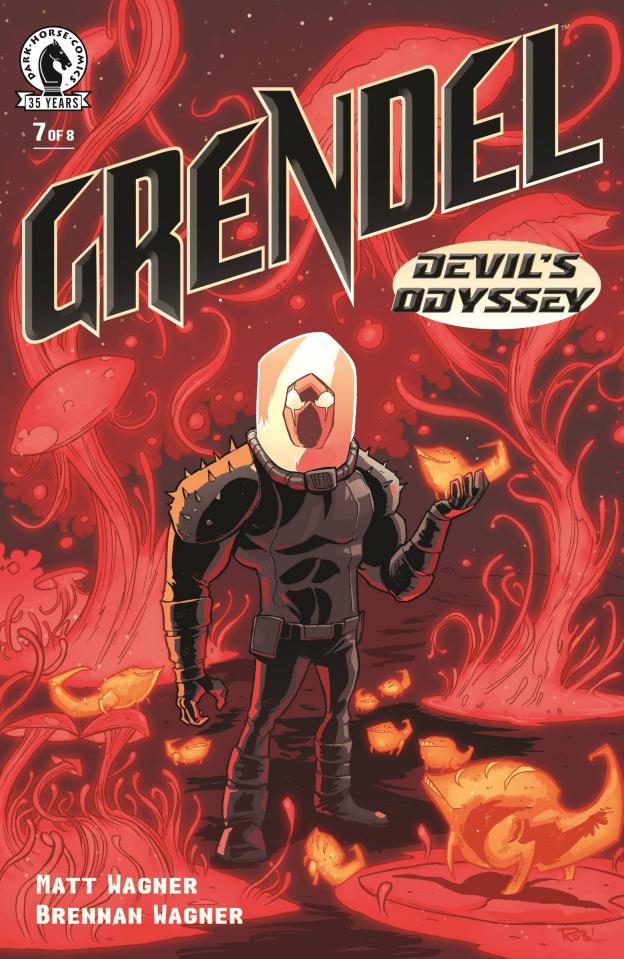 Grendel: Devil's Odyssey #7 (Guillory Cover)