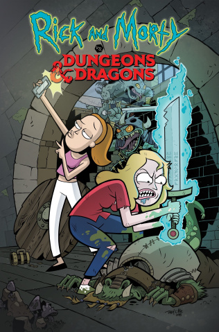Rick and Morty vs. Dungeons & Dragons #2 (Little Cover)
