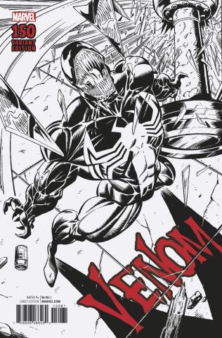 Venom #150 (Bagley Remastered Sketch Cover)