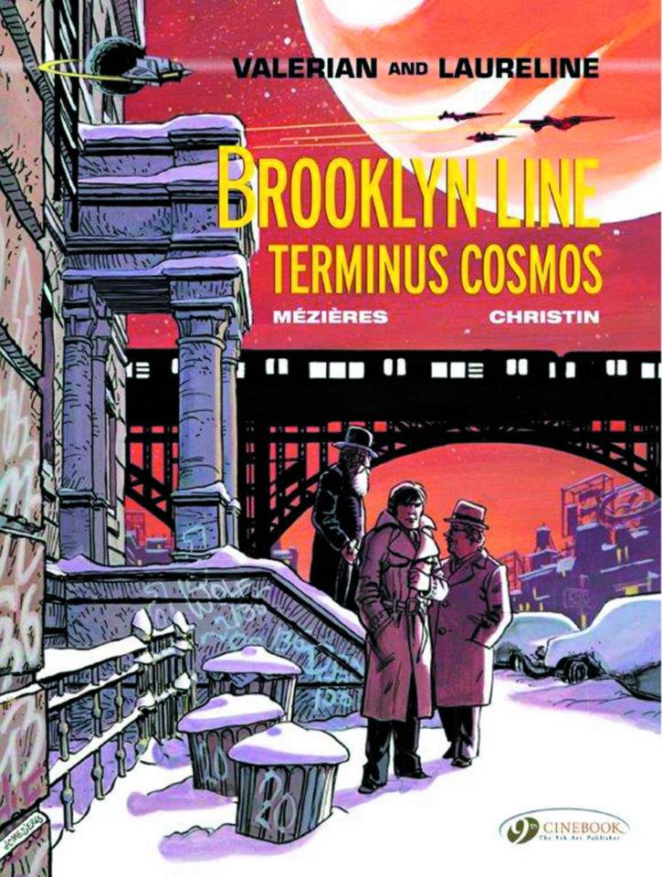 Valerian Vol. 10: Brooklyn Line Terminus Cosmos