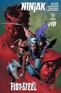 Ninjak #18 (Segovia Cover)