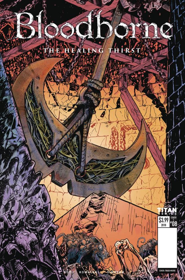 Bloodborne #8 (Bivens Cover)