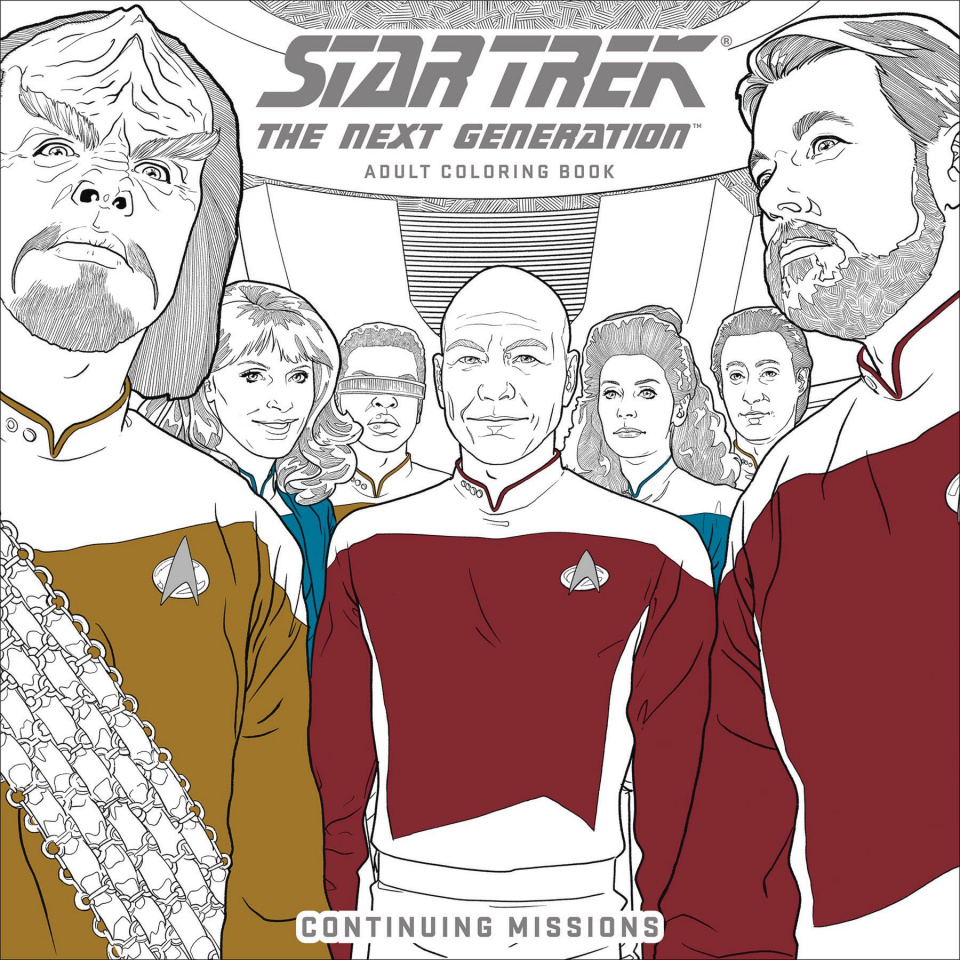 Star Trek: The Next Generation Adult Coloring Book Vol. 2: Continuing Missions