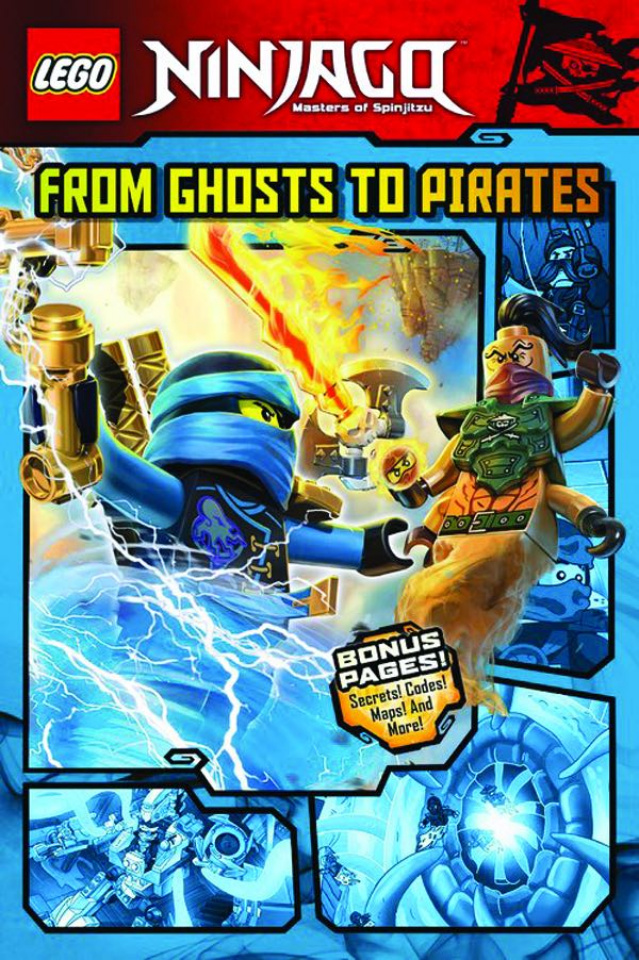 Lego Ninjago Vol. 3: From Ghosts to Pirates