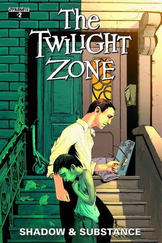 The Twilight Zone: Shadow & Substance #2 (Lau Subscription Cover)