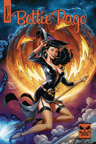 Bettie Page Halloween Special (Royle Cover)