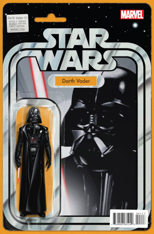 Darth Vader #1 (Action Figure Cover)