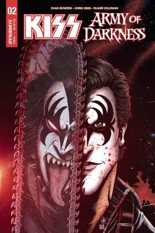 KISS / Army of Darkness #2 (Haeser Cover)