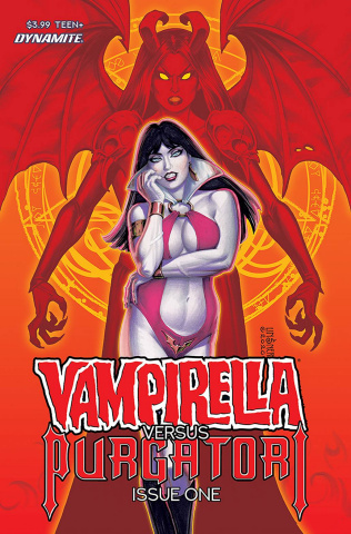 Vampirella vs. Purgatori #1 (Linsner CGC Cover)