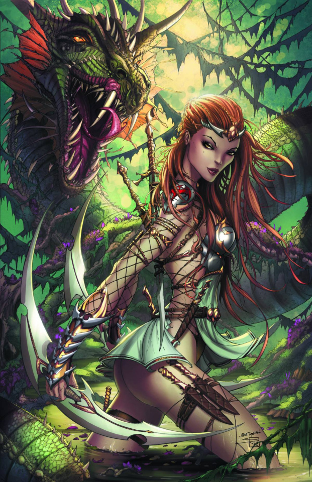Grimm Fairy Tales: Quest #2 (Tyndall Cover)