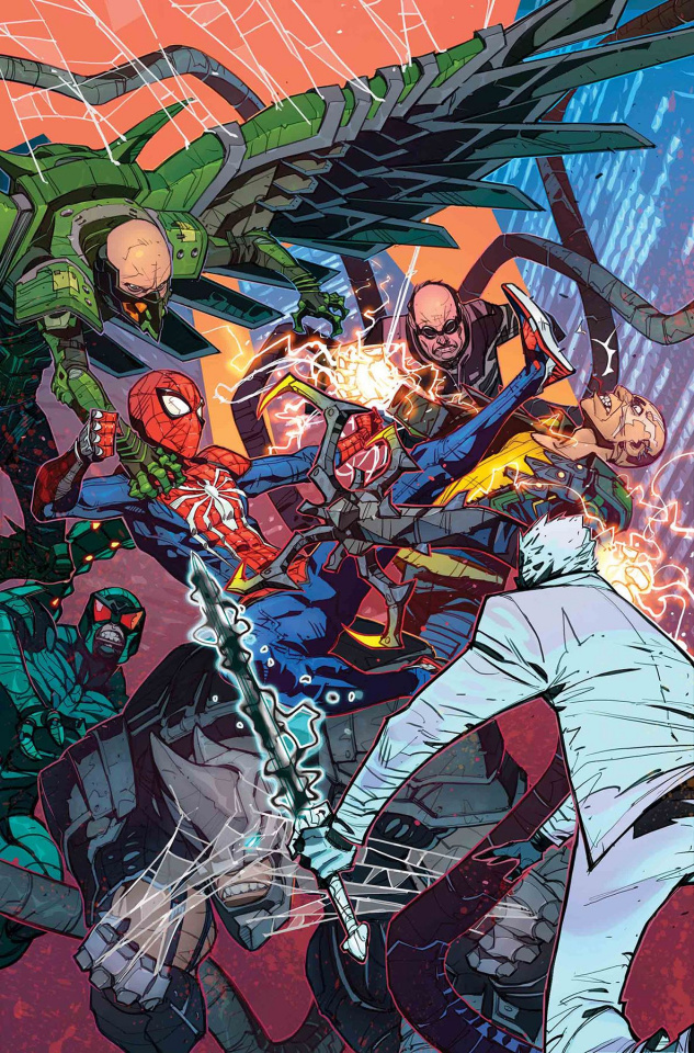 Spider-Man: City At War #4 (Petrovich Cover)