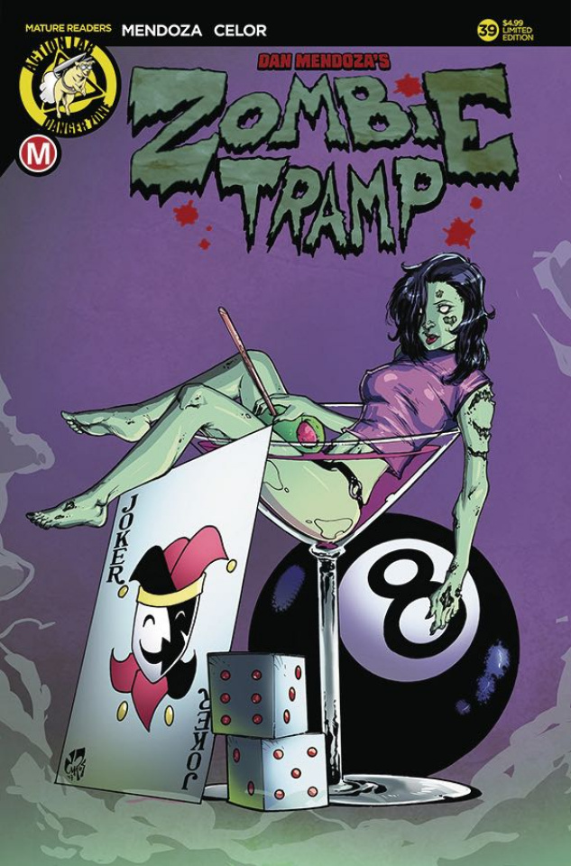 Zombie Tramp #39 (Cocktail Cover)