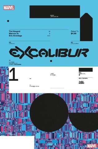 Excalibur #1 (Muller Design Cover)