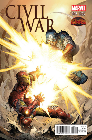 Civil War #3 (Variant Cover)