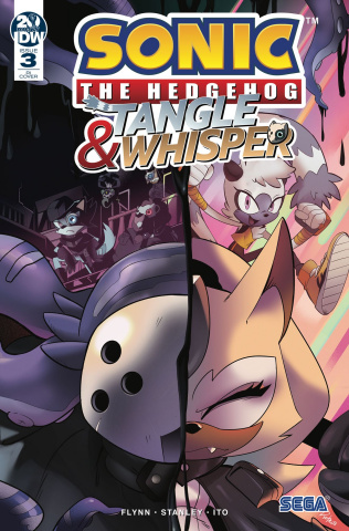 Sonic the Hedgehog: Tangle & Whisper #3 (10 Copy Cover)