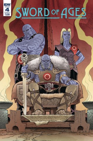 Sword of Ages #4 (Rodriguez Cover)