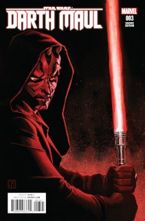 Star Wars: Darth Maul #3 (Shalvey Cover)