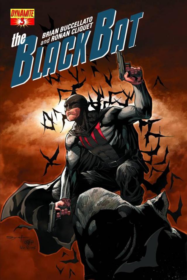 The Black Bat #3 (Syaf Cover)