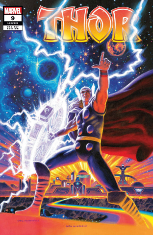 Thor #9 (Hildebrandt Cover)