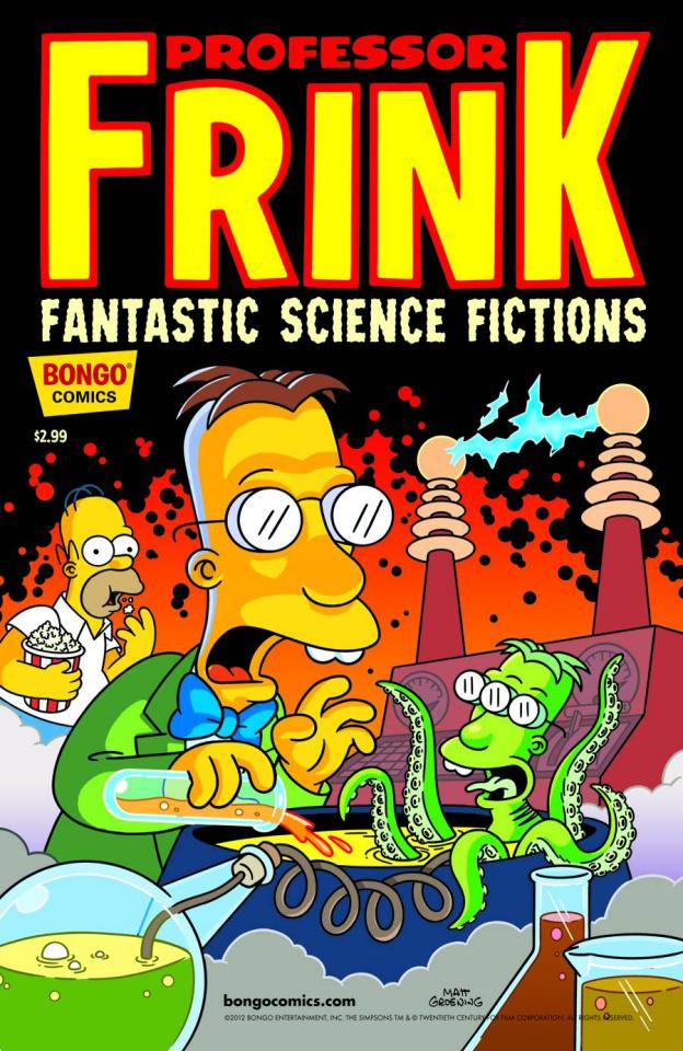 Professor Frink: Fantastic Science Fictions #1