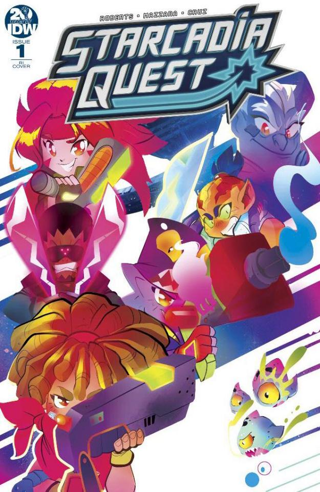 Starcadia Quest #1 (10 Copy Baldari Cover)