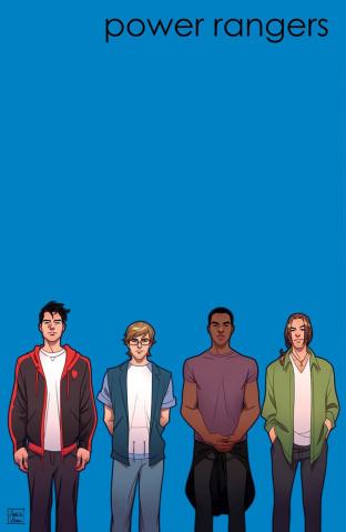 Go, Go, Power Rangers! #23 (20 Copy Vidal Cover)