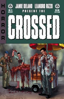 Crossed: Badlands #5 (Auxiliary Edition)