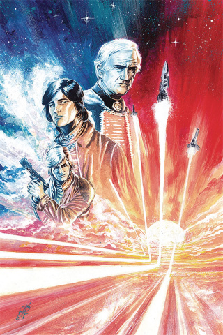 Battlestar Galactica Classic #5 (10 Copy Rudy Virgin Cover)