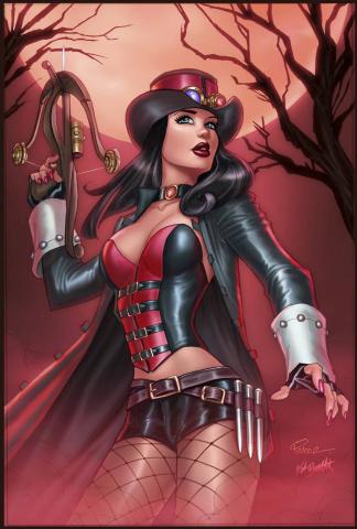 Grimm Fairy Tales: Van Helsing vs. Dracula #2 (Pekar Cover)