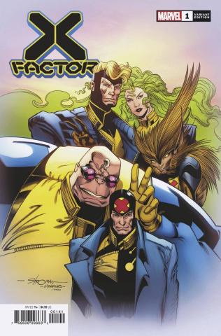 X-Factor #1 (Stroman Hidden Gem Cover)