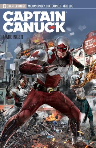 Captain Canuck Vol. 3: Harbinger