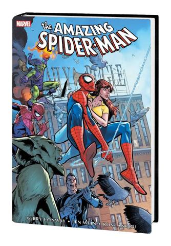 The Amazing Spider-Man Vol. 5 (Medina Omnibus Cover)