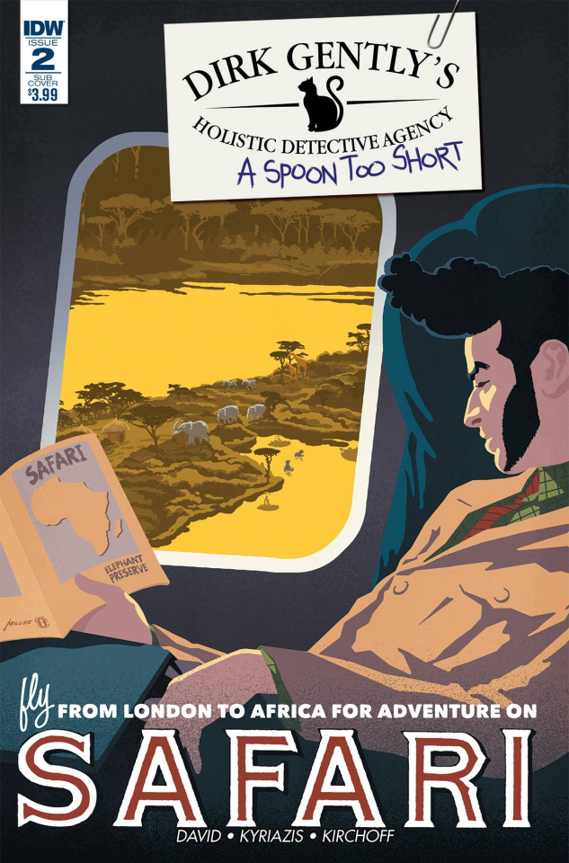 Dirk Gently's Holistic Detective Agency: A Spoon Too Short #2 (10 Copy Cover)