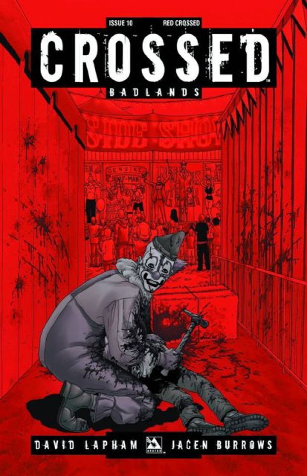 Crossed: Badlands #10 (Red Crossed Cover)