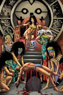 E.V.I.L. Heroes #2 (Kivela Cover)