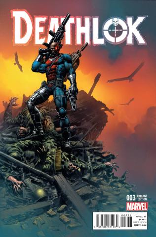 Deathlok #3 (Deodato Cover)