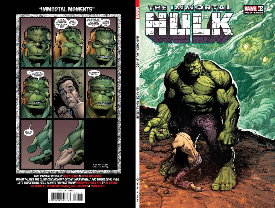 The Immortal Hulk #50 (Frank Cover)