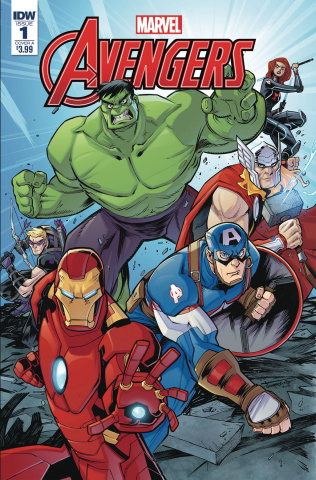 Marvel Action: Avengers #1 (Sommariva Cover)