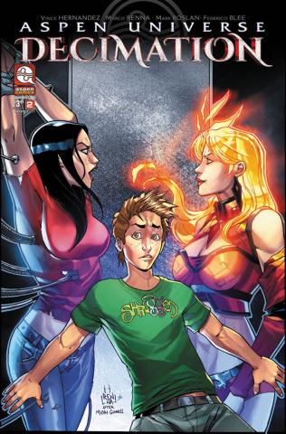 Aspen Universe: Decimation #2 (Renna Cover)