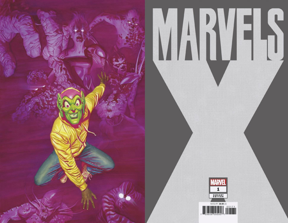 Marvels X #1 (Alex Ross Virgin Cover)