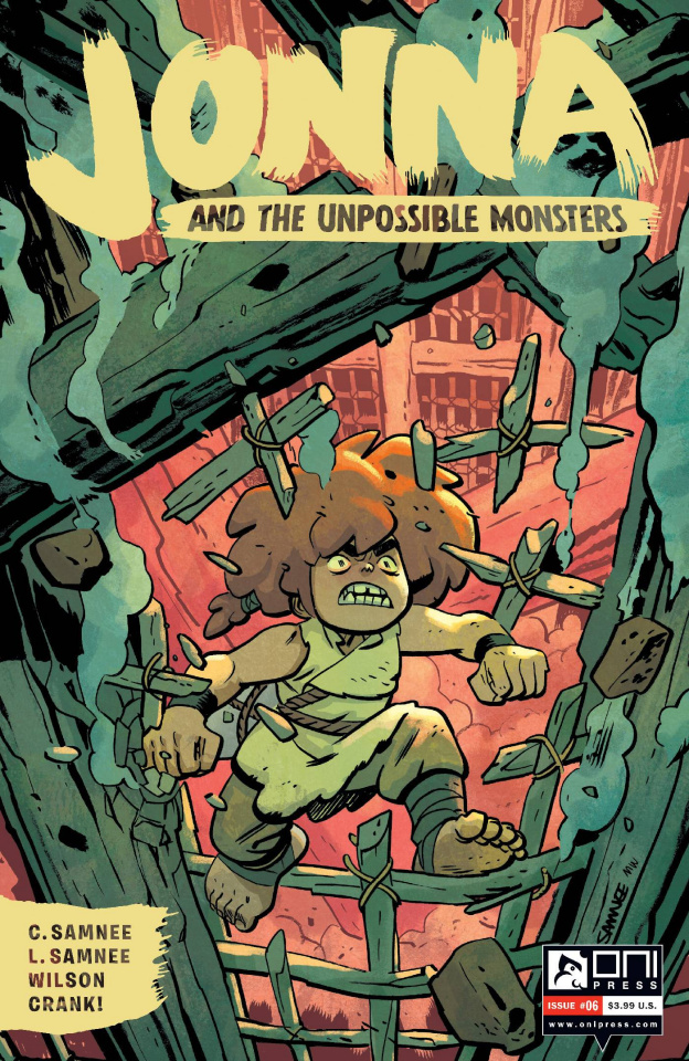 Jonna and the Unpossible Monsters #6 (Samnee Cover)