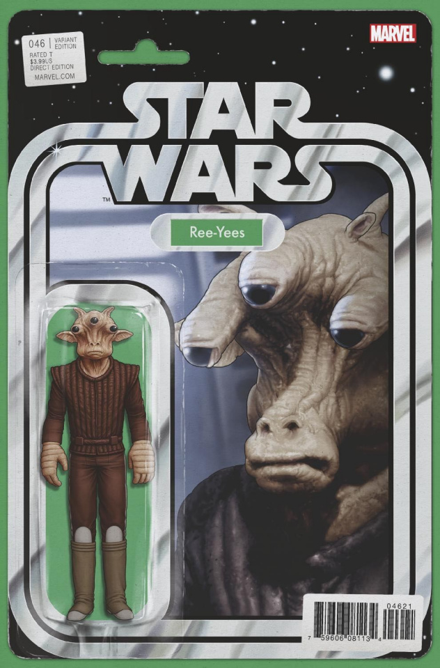 Star Wars #46 (Christopher Action Figure Cover)