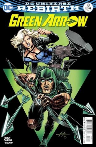 Green Arrow #18 (Variant Cover)