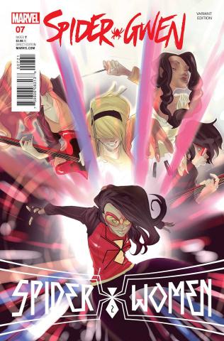 Spider-Gwen #7 (Rodriguez Cover)
