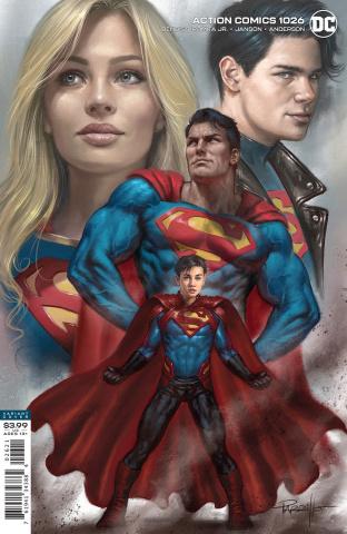 Action Comics #1026 (Lucio Parrillo Cover)