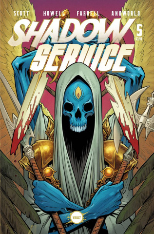Shadow Service #5 (Isaacs Cover)