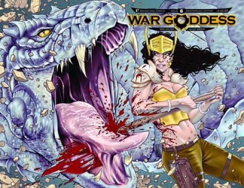 War Goddess #6 (Wrap Cover)