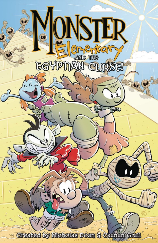 Monster Elementary Vol. 2: The Egyptian Curse